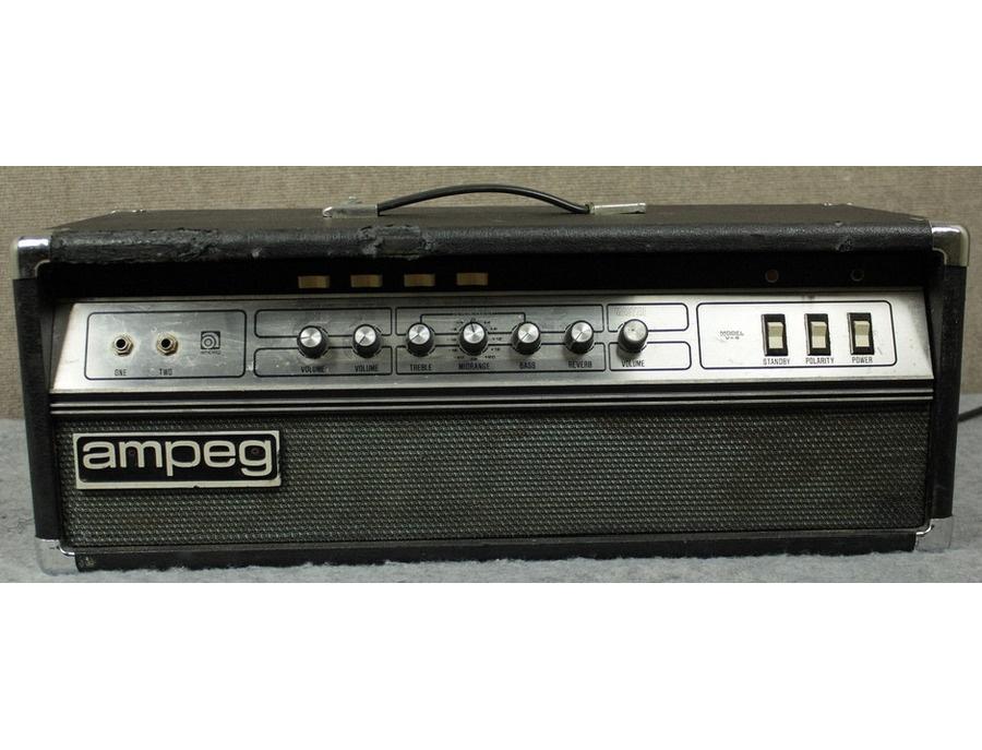 Vintage ampeg v4 amplifier head xl