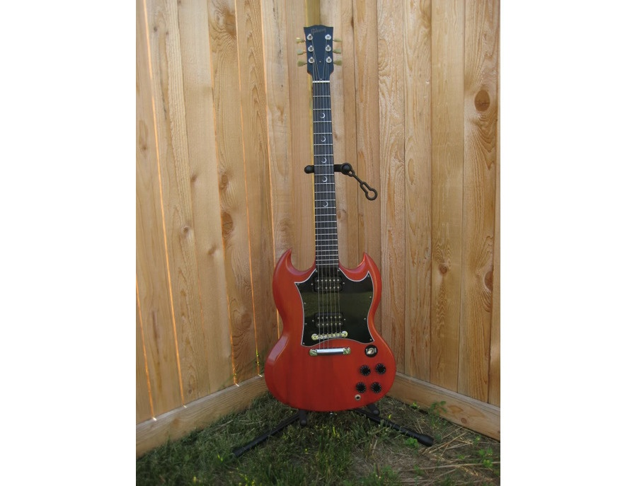 Gibson SG Special Faded w/ Crescent Moon Inlays