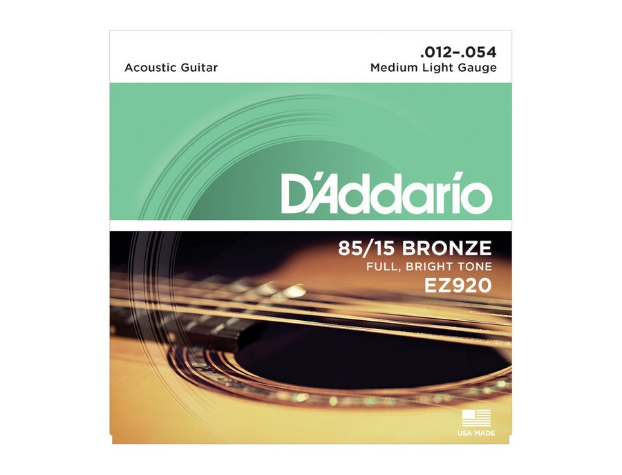 D'Addario EZ920 80/15 Bronze