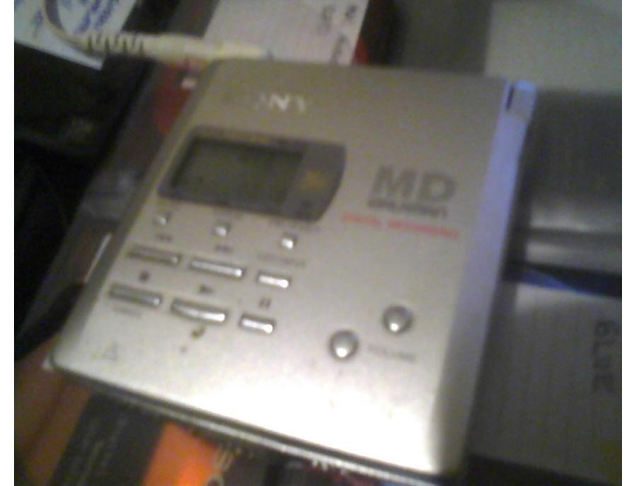 Sony mz r55 minidisc recorder xl