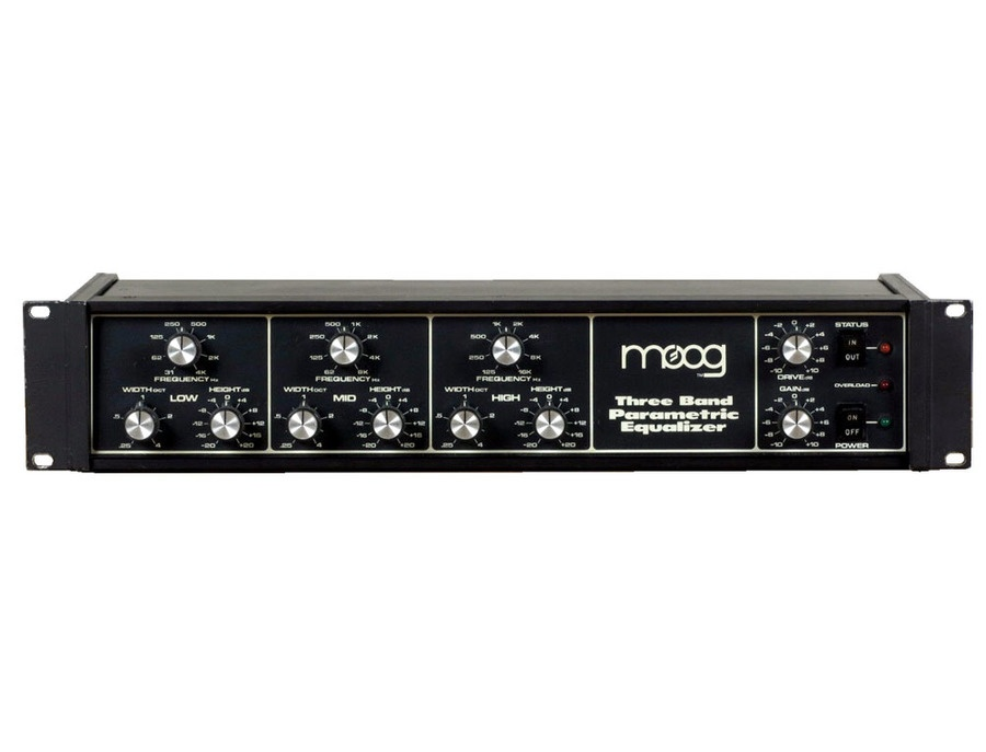 Moog three band parametric eq xl