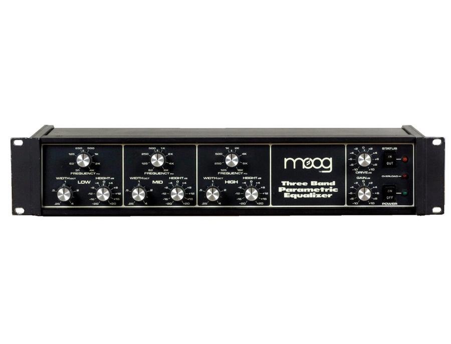 Moog Three Band Parametric EQ
