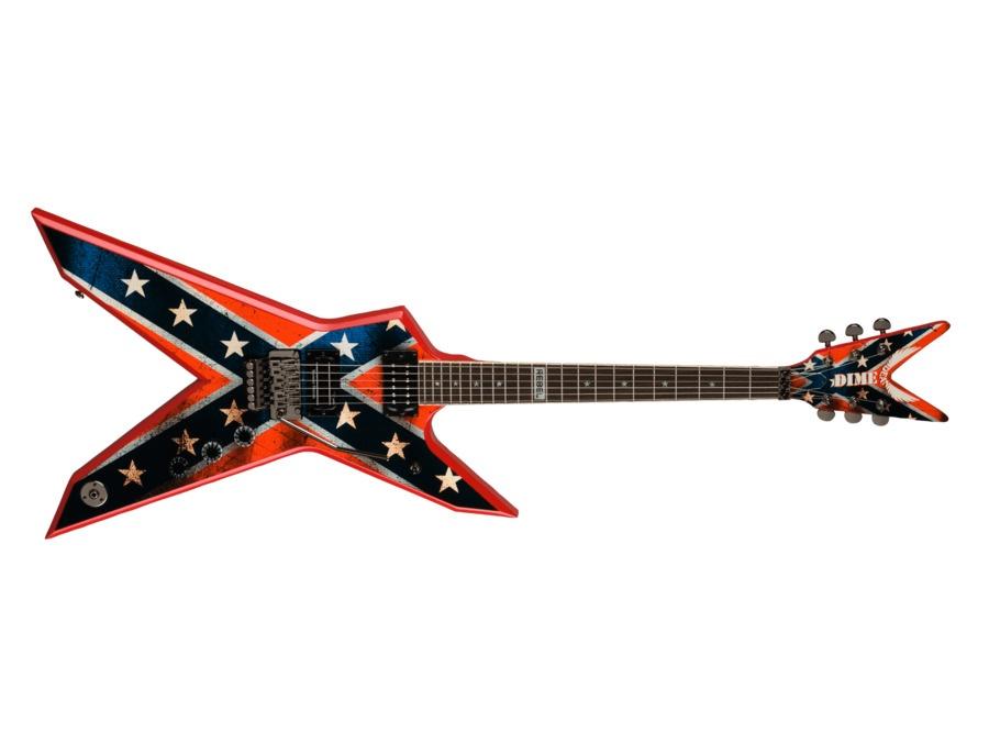 dean guitars dimebag dixie rebel reviews prices equipboard. Black Bedroom Furniture Sets. Home Design Ideas