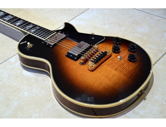 Custom German Les Paul, handmade, 80'
