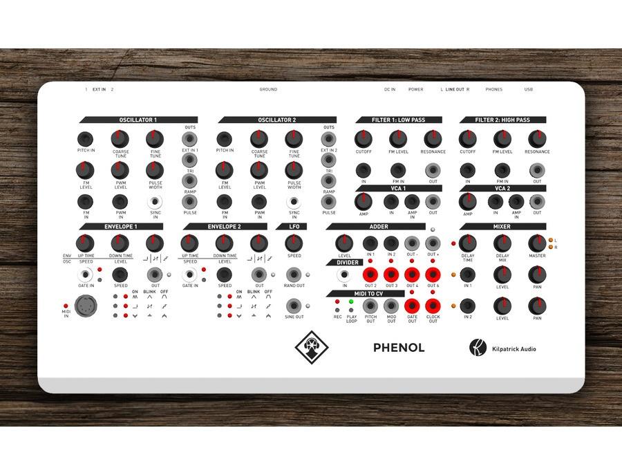 PHENOL - Patchable Analog Synthesizer