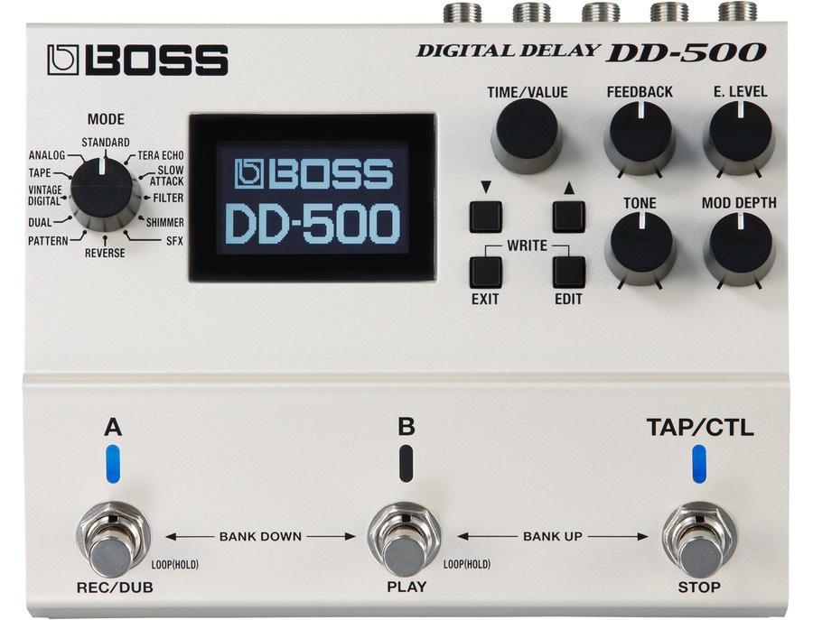 Boss dd 500 digital delay xl
