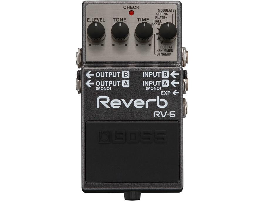 Boss RV-6 Digital Reverb Effects Pedal