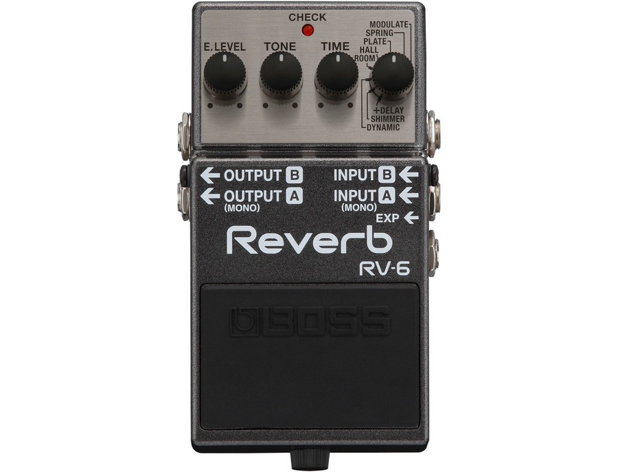 Boss RV-6 Digital Reverb Effects Pedal
