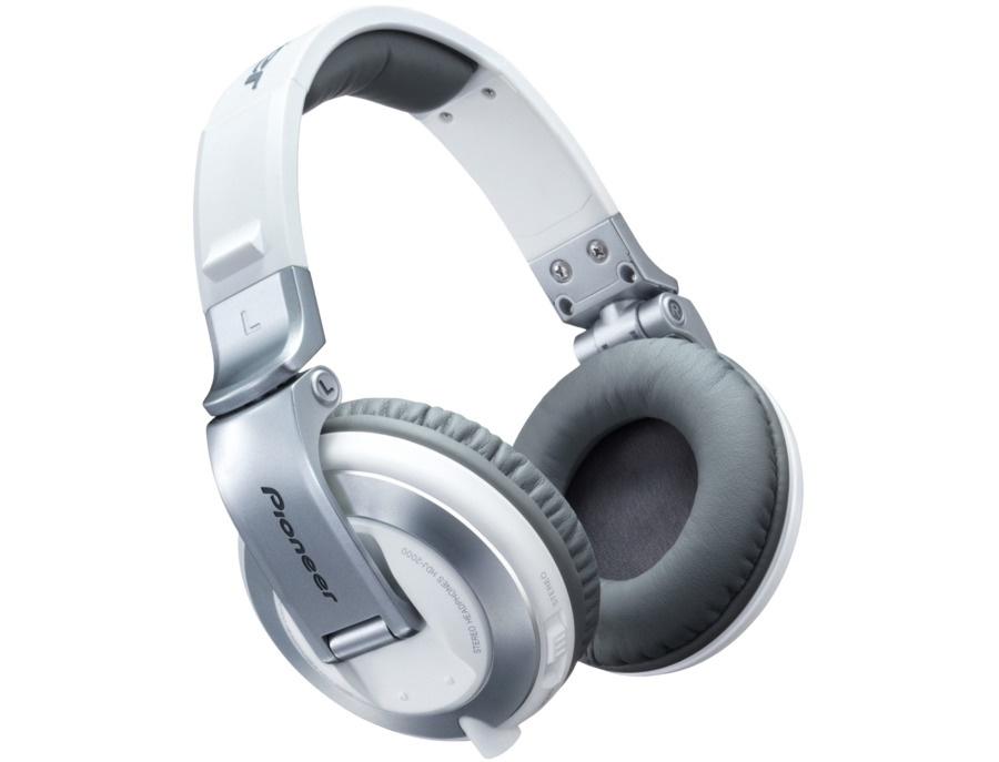 Pioneer HDJ-2000 White Headphones