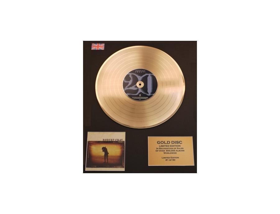 Ifpi worldwide gold sales award robert cray twenty xl