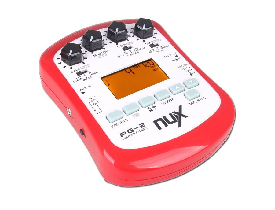 Nux PG-2 Portable Guitar Effects|