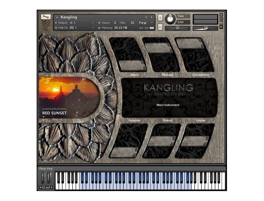 Dargalon Kangling Kontakt Instrument
