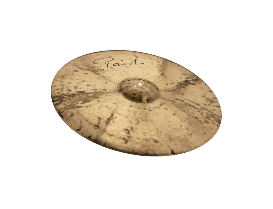 "Paiste 21"" Signature Dark Energy Dark Energy Ride Mark II"