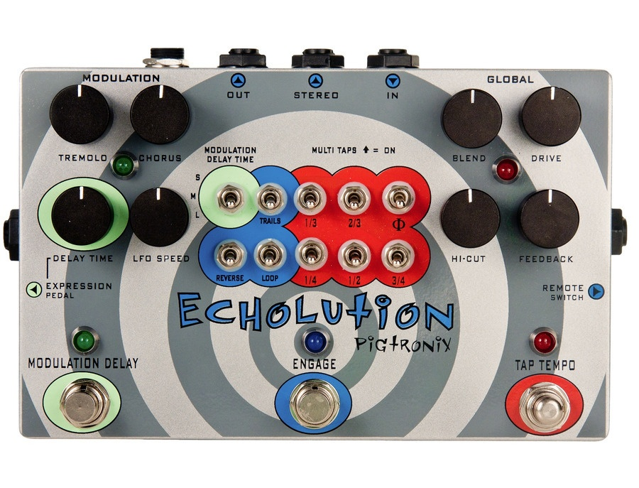 Pigtronix Echolution Multi-Tap Delay Pedal