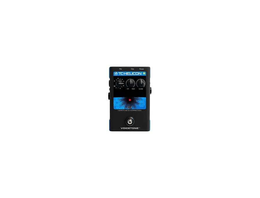 Tc helicon voicetone c1 vocal effects processor xl