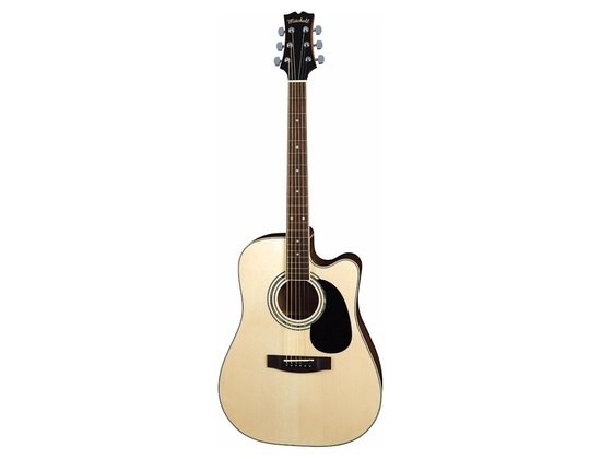 Mitchell MD100SCE Dreadnought Cutaway Acoustic-Electric Guitar