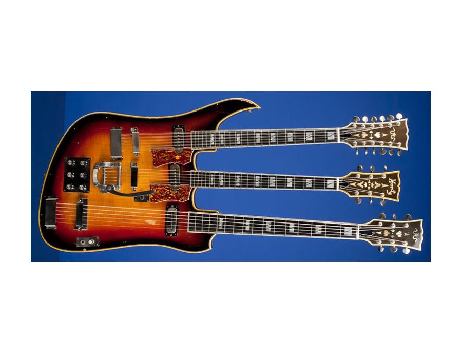 1965 Koontz Custom Triple Neck Electric Guitar