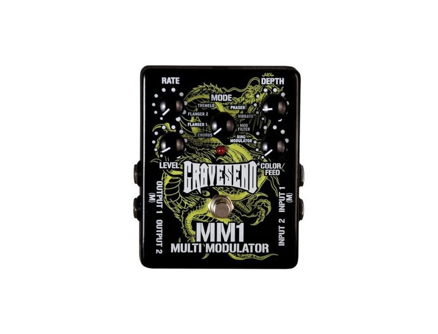 Gravesend MM1 Multi-Modulator Pedal