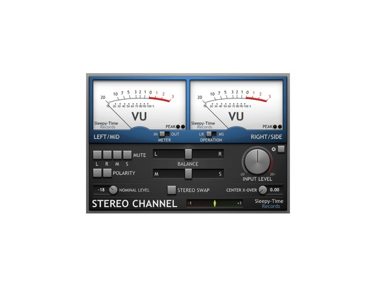 Sleepy-Time DSP Stereo Channel
