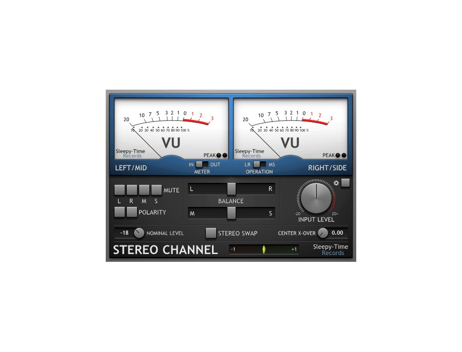 Sleepy time dsp stereo channel xl