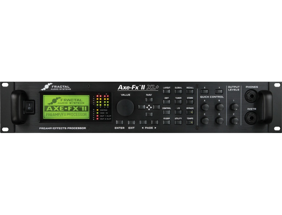 Fractal audio axe fx 2 xl xl