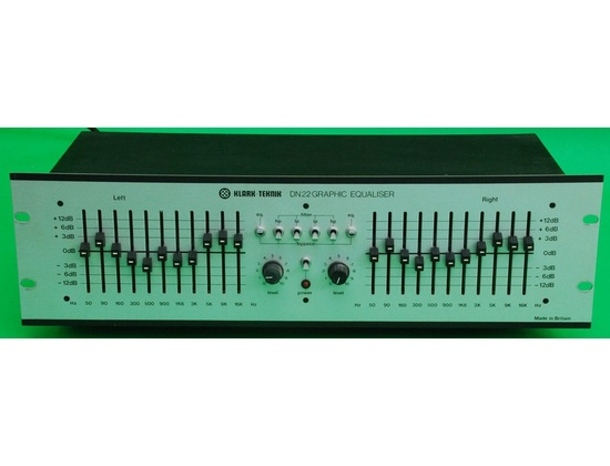 Klark Teknik DN-22 Graphic Equaliser