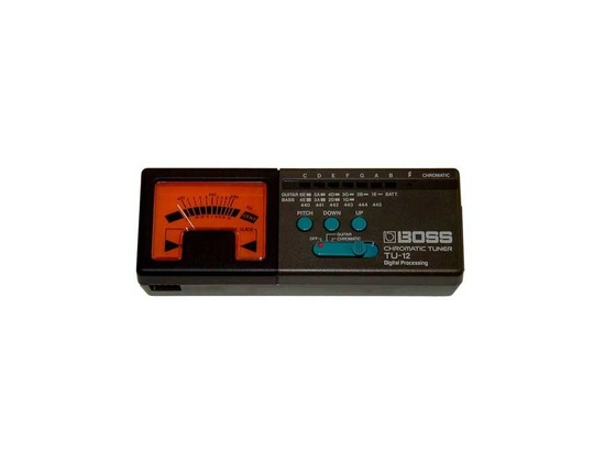 Boss TU-12 Chromatic Tuner
