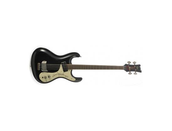 1965 Semie Moseley Signed Mosrite Electric Bass Guitar