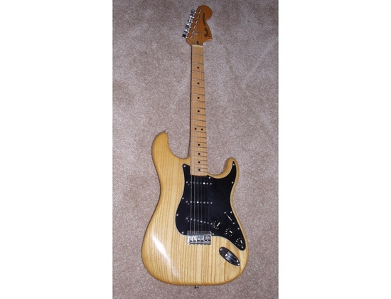 1979 Fender Stratocaster Hardtail Natural Finish