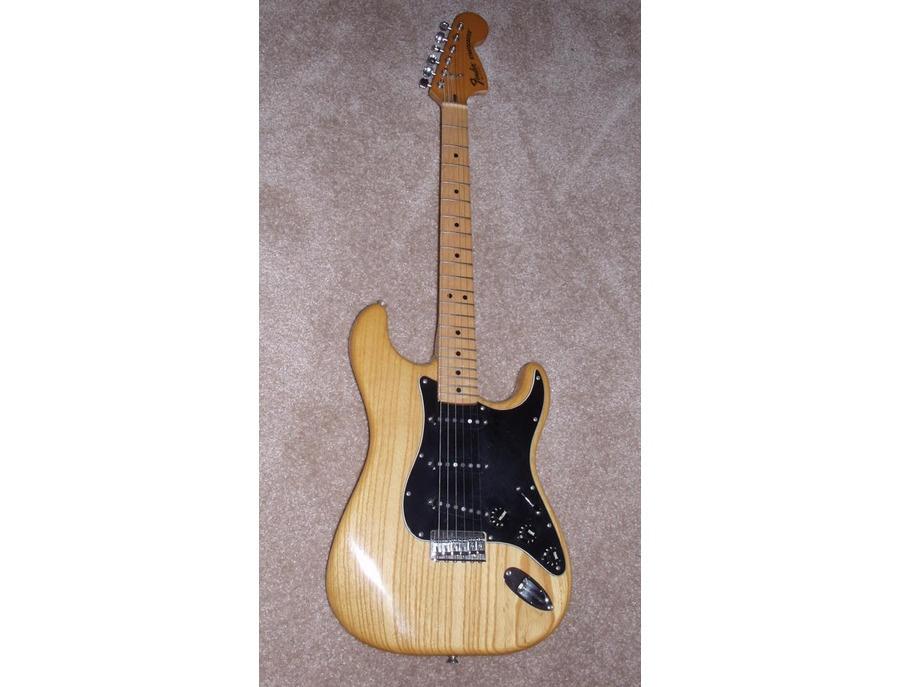 1979 Fender Stratocaster Hardtail Natural Finish