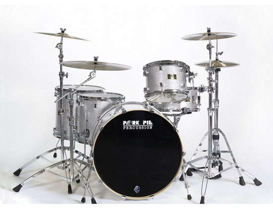 Pork Pie - Silver Sparkle Maple Kit