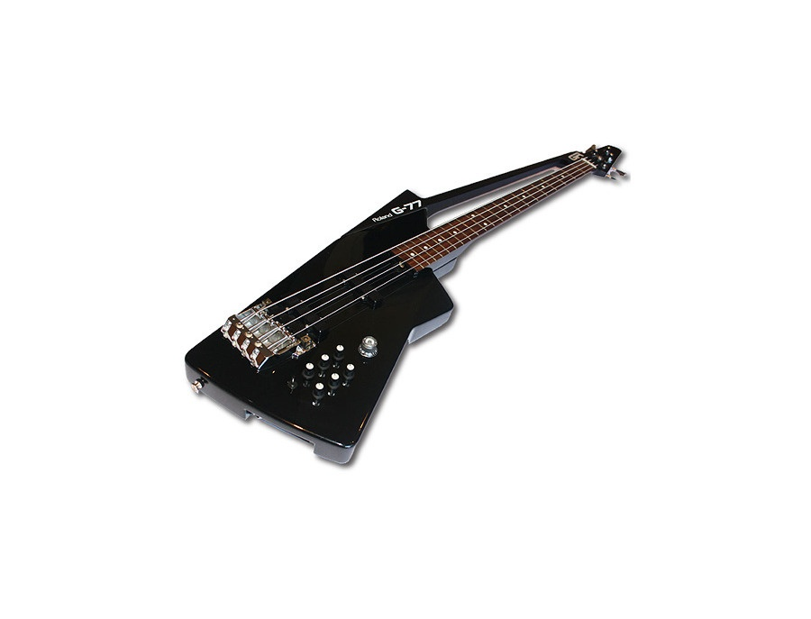 roland g 77 bass guitar synthesizer controller reviews prices equipboard. Black Bedroom Furniture Sets. Home Design Ideas