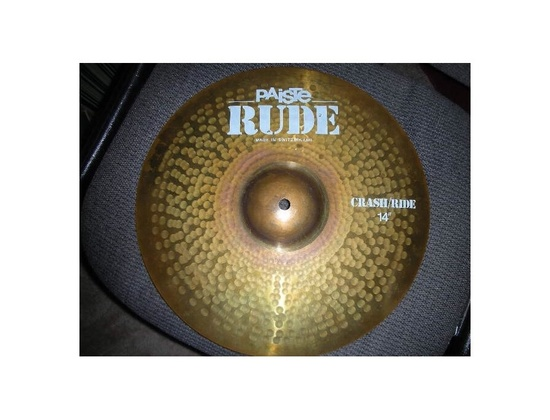 "Paiste 14"" Rude Crash/Ride"