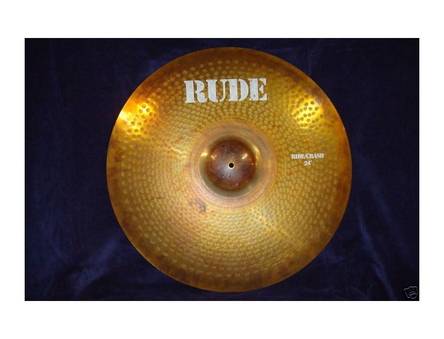 "Paiste 24"" Rude Ride/Crash"