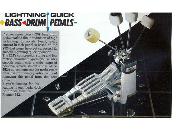 Premier 252 Single Bass Drum Pedal