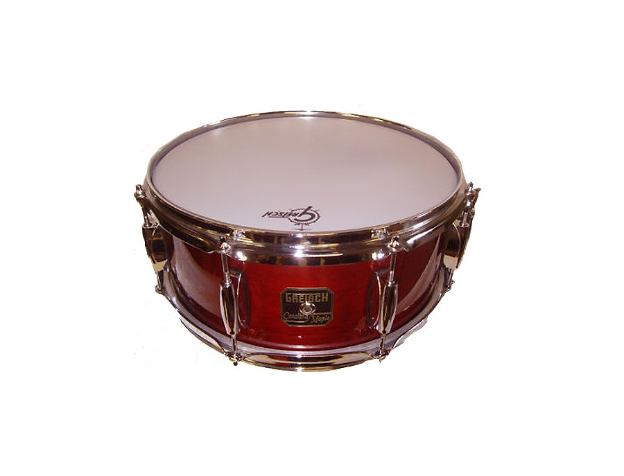 Gretsch Snare Drum 14x6.5 Catalina Maple Cherry Red finish