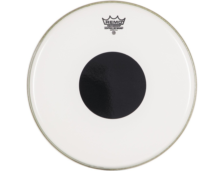 Remo controlled sound clear black dot drumheads xl