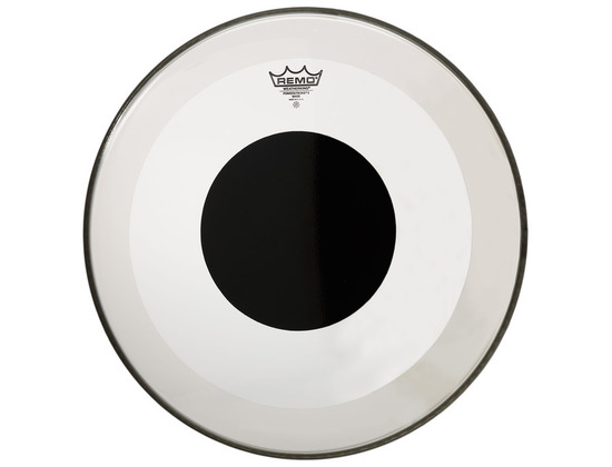 Remo Powerstroke 3 Clear Black Dot Bass Drumheads