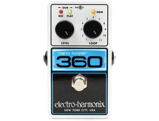 Electro-Harmonix Nano Looper 360 Pedal Looper