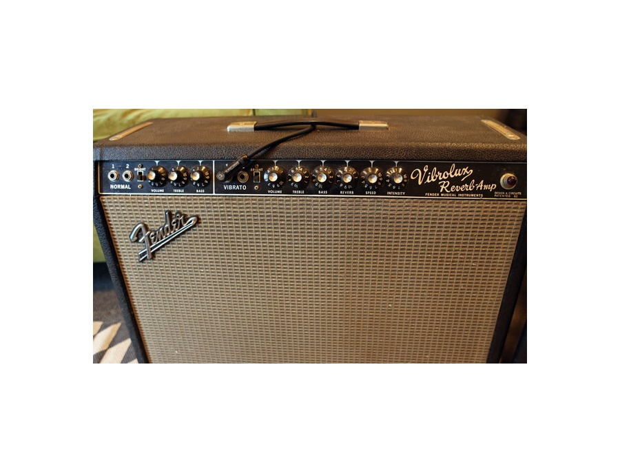 1965 fender vibrolux reverb combo amplifier xl