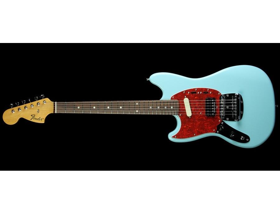 Fender Mustang Sonic Blue Left Handed Reviews Amp Prices