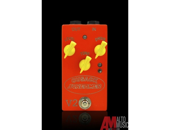Cusack Screamer V2 Overdrive Pedal