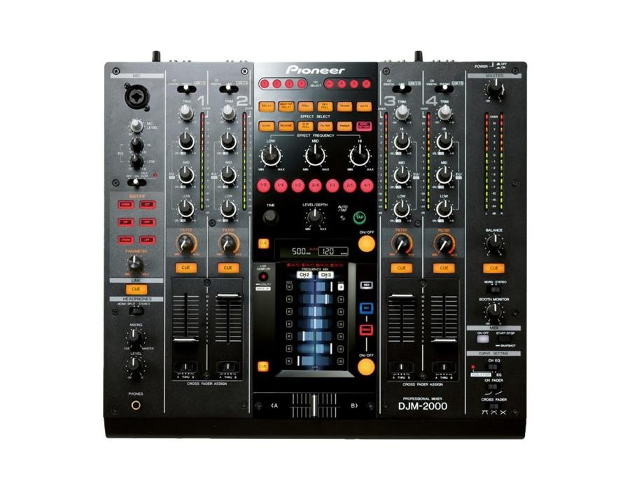 Pioneer djm 2000 mixer xl