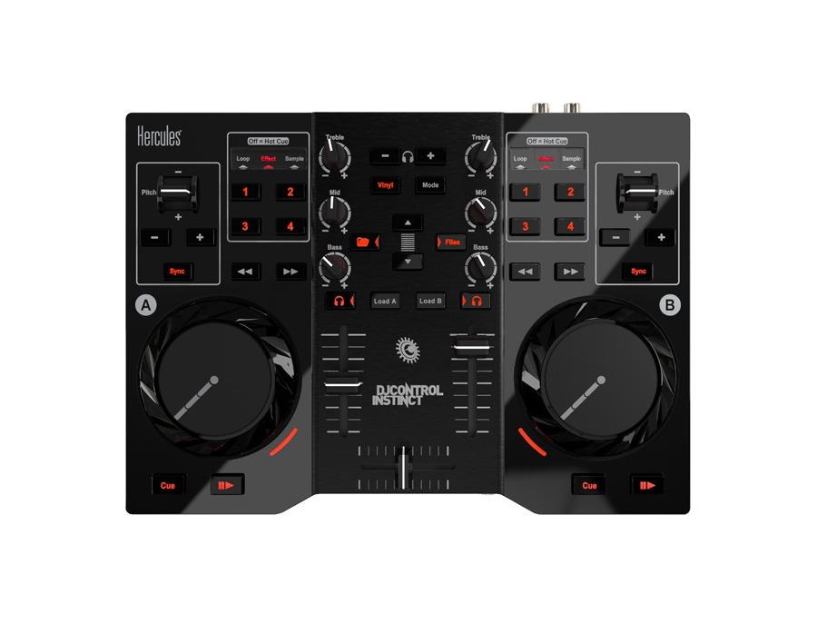 Hercules DJ Control Instinct USB DJ Controller with Audio Outputs