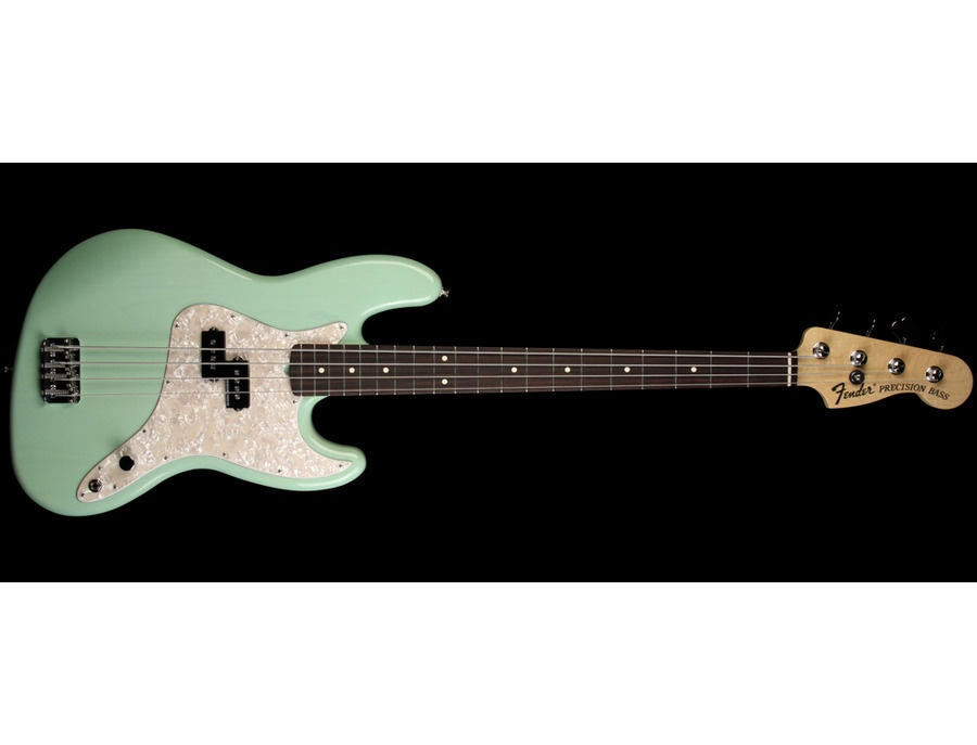 Fender Mark Hoppus Jazz Bass Surf Green