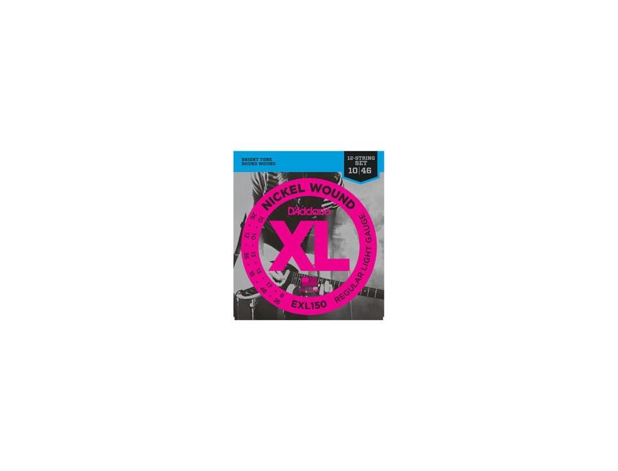 D'Addario EXL150 Nickel XL 12-string set
