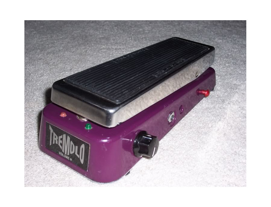 dunlop tvp 1 tremolo volume pedal reviews prices equipboard. Black Bedroom Furniture Sets. Home Design Ideas