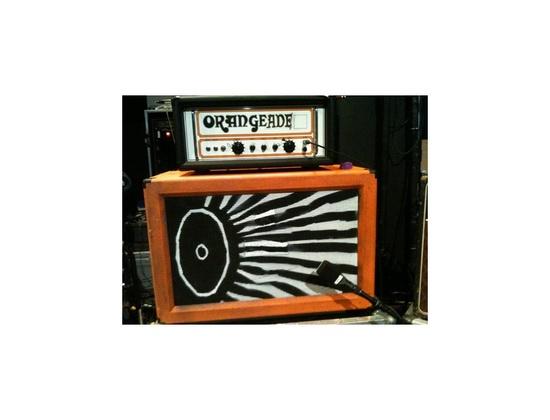 Orange 2x12 Custom Cabinet