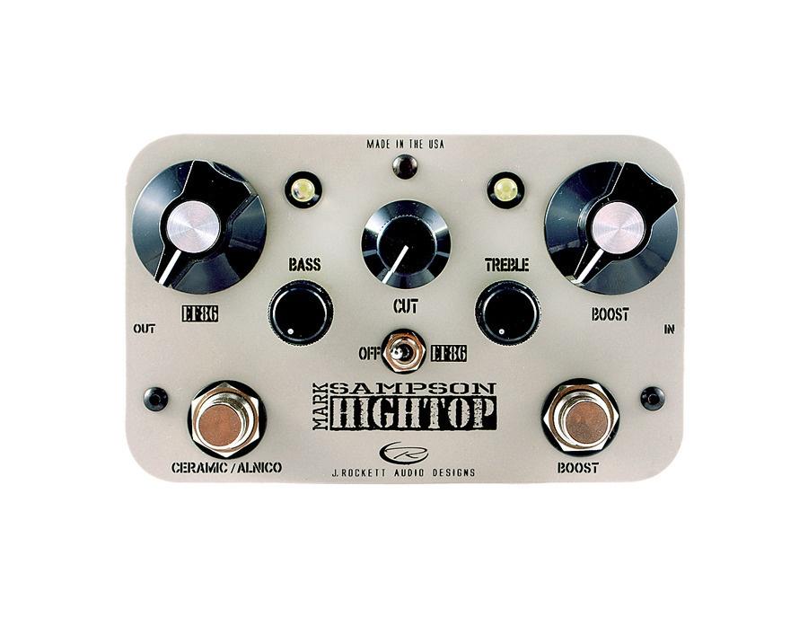 Rockett Pedals Mark Sampson Hightop EQ/Boost Guitar Effects Pedal