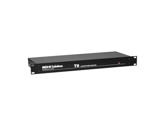 MIDI Solutions T8 8-output MIDI Thru Box